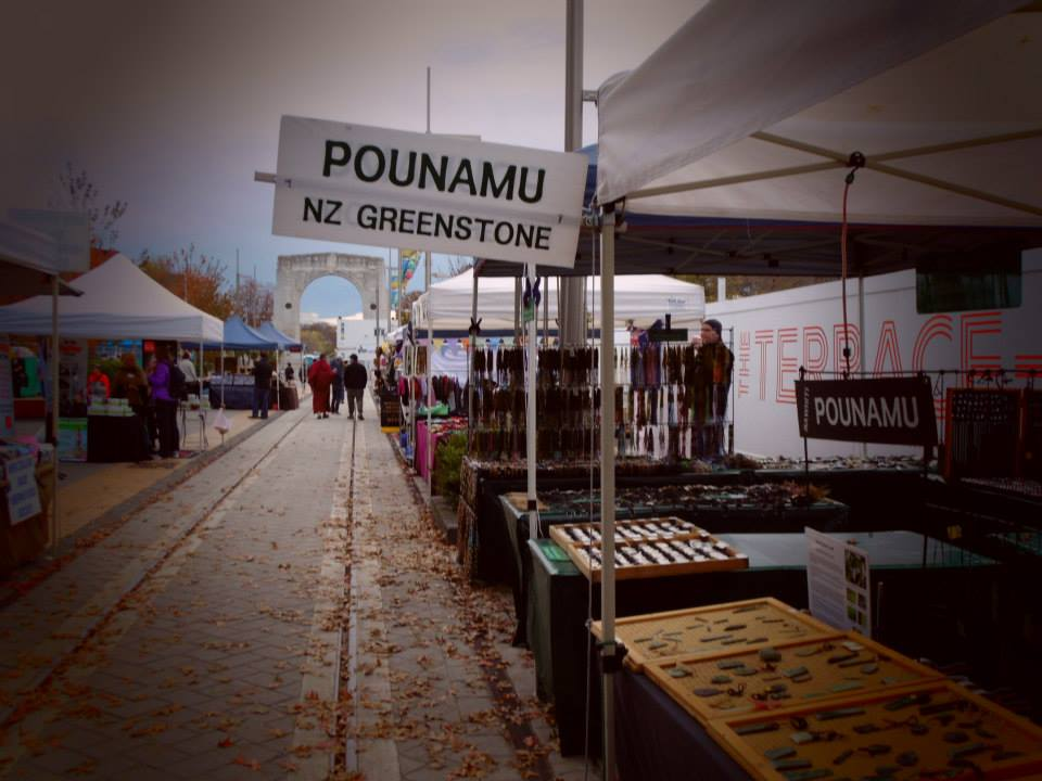 The Sunday Market on Cashel Street, central Christchurch