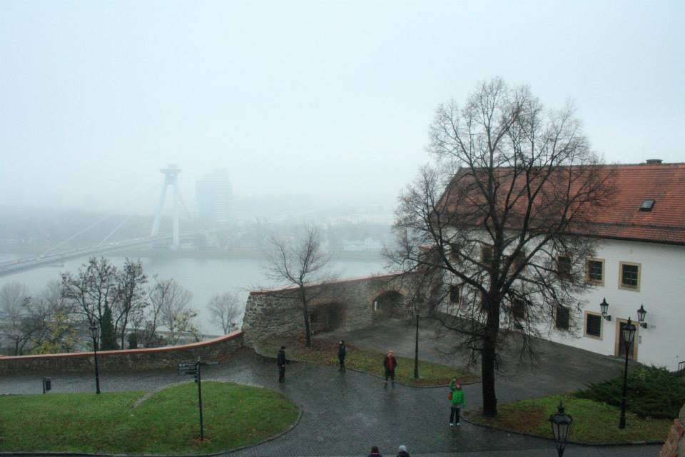 A view from Bratislava Castle