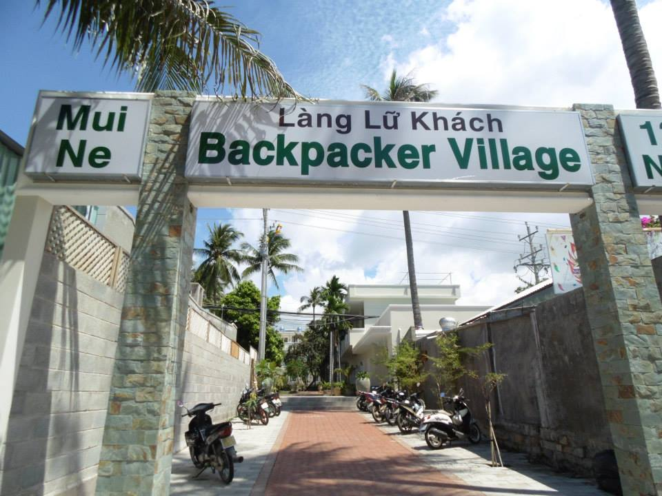 At a popular backpackers hang out in Mui Ne, Vietnam