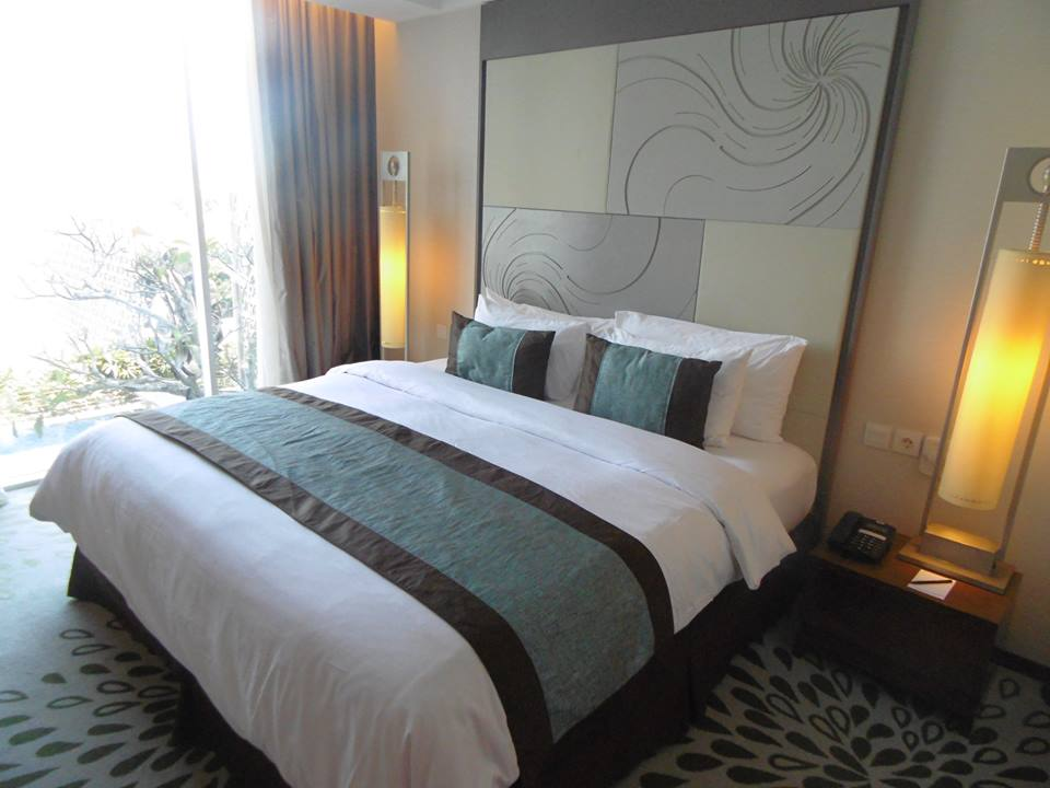 Our 5* hotel room in Indonesia for under £50 per night!