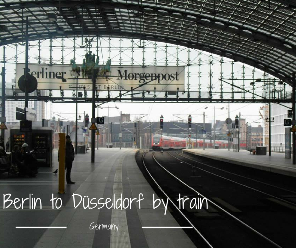 Berlin to Dusseldorf by train