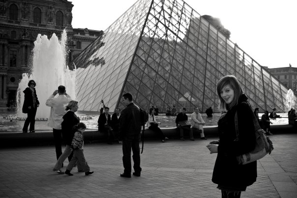 Exploring Paris, France for my 23rd birthday (October 2010)