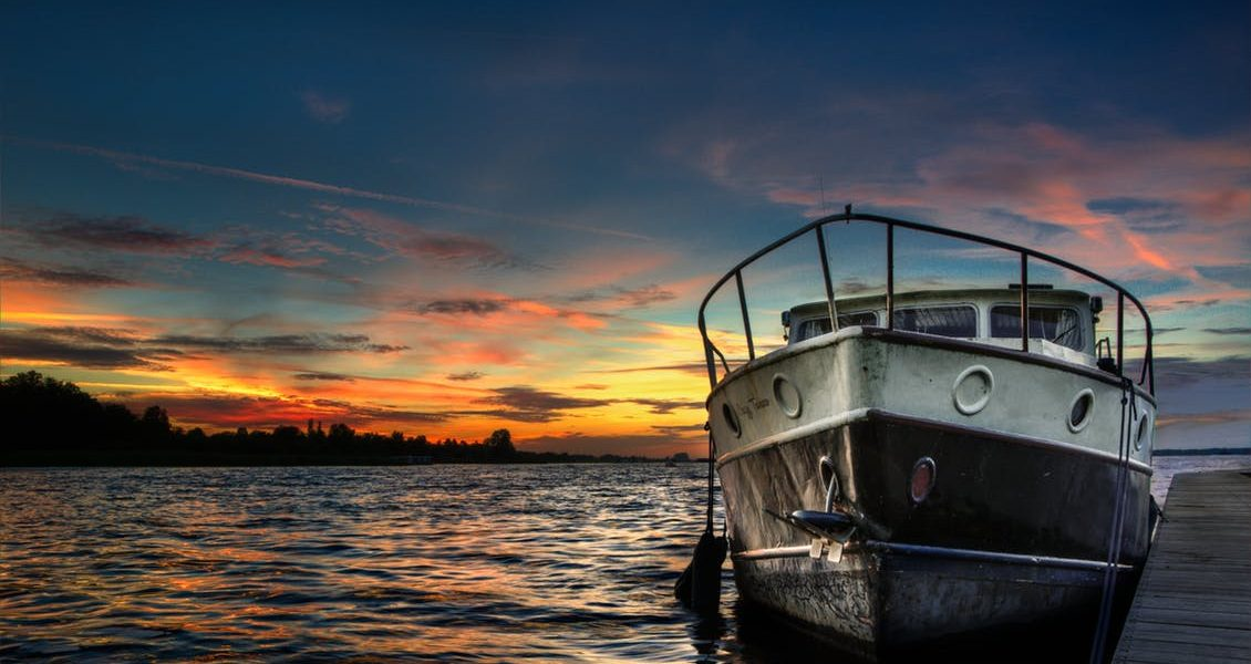 light-sunset-water-boat
