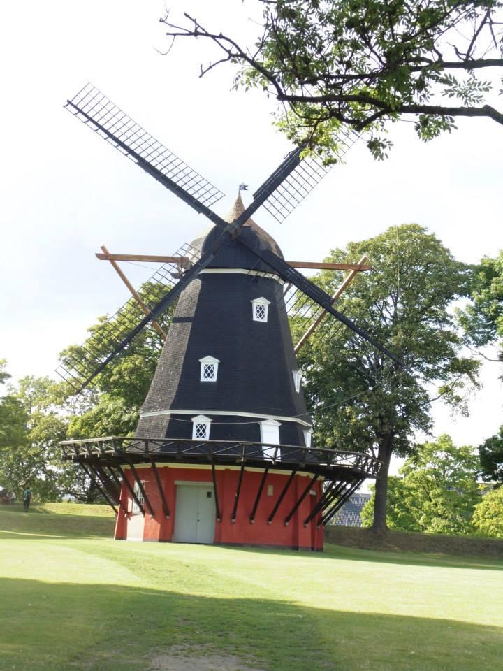 The Kastellet Windmill, Copenhagen