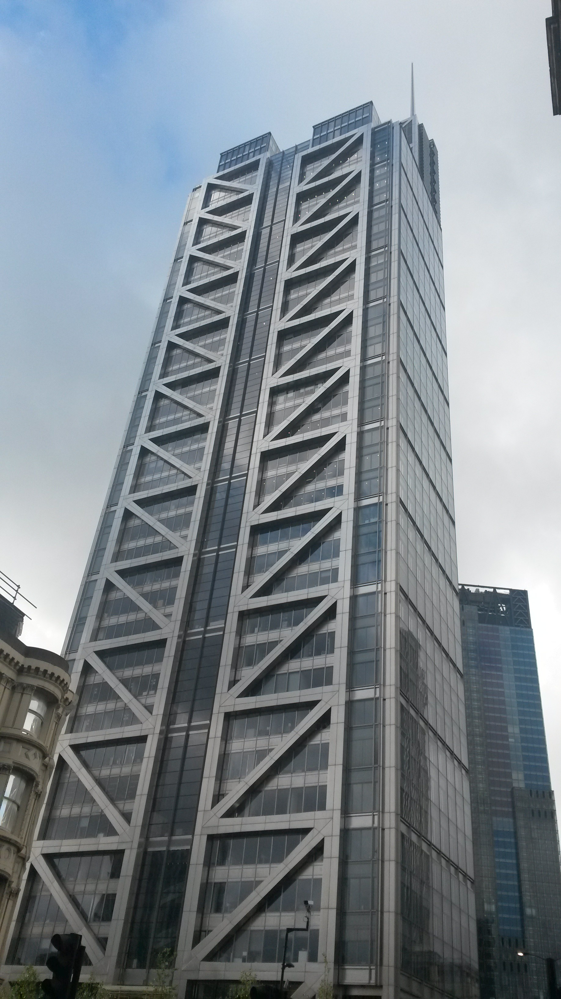 The Heron Tower, where Duck and Waffle is located in central London