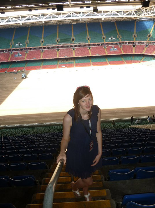 Touring the Millennium Stadium, Cardiff in 2011