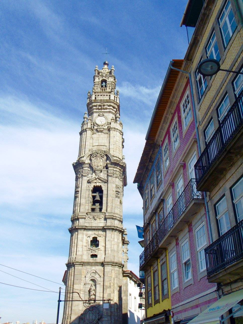 Clérigos Tower is a great spot for getting a good view over the city. It can be climbed anytime between 9am and 7pm