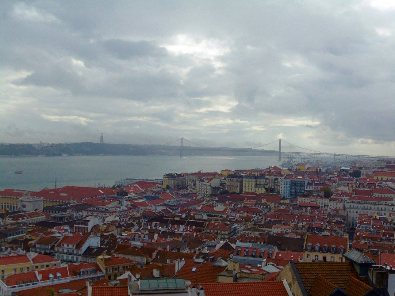 A view from the Castle, Lisbon.