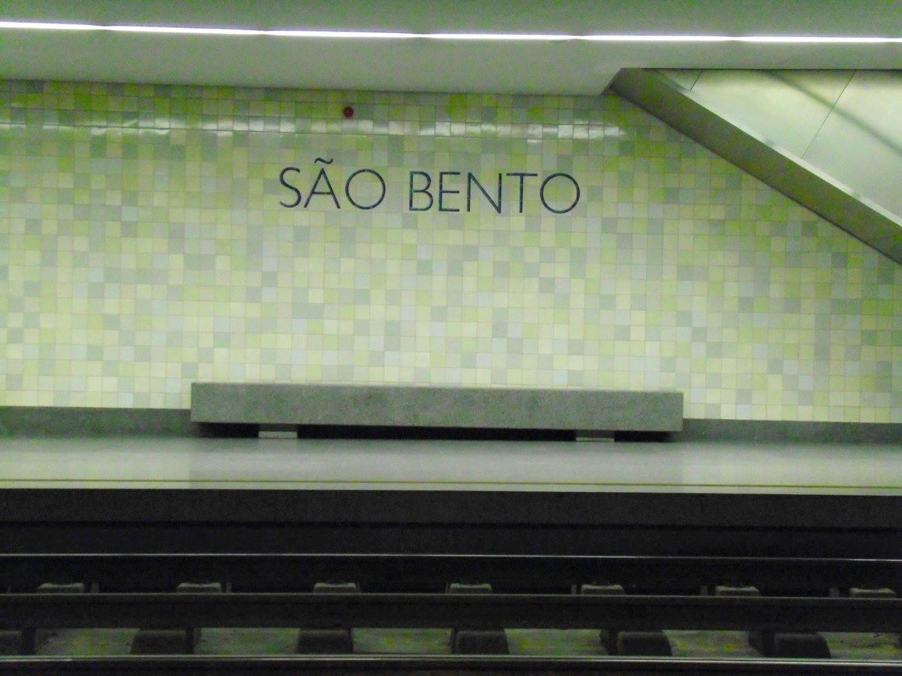 Sao Bento metro station, Porto