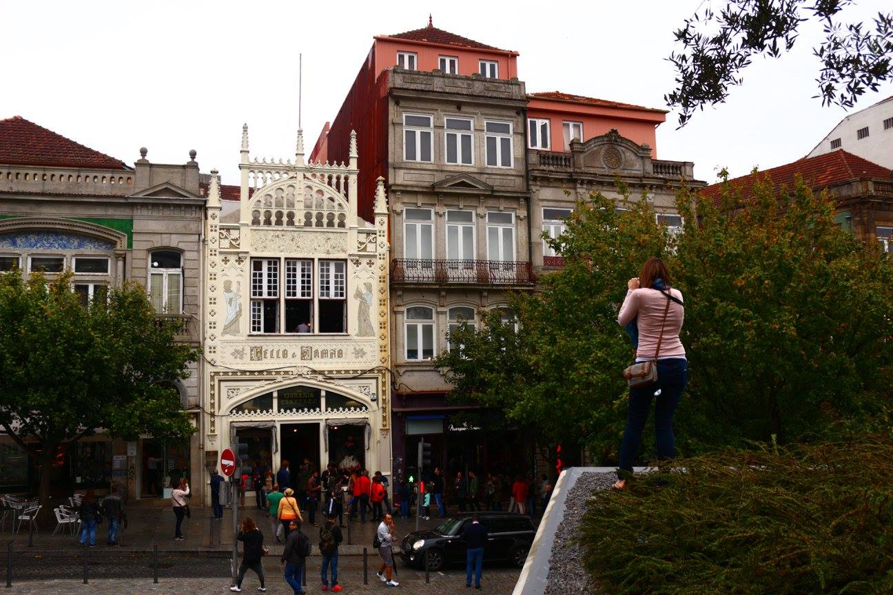 The Lello Bookstore in Porto is famous for inspiring JK Rowlling to write the Harry Potter book series. It gets pretty busy, so I was content with standing from afar and taking photos of it.