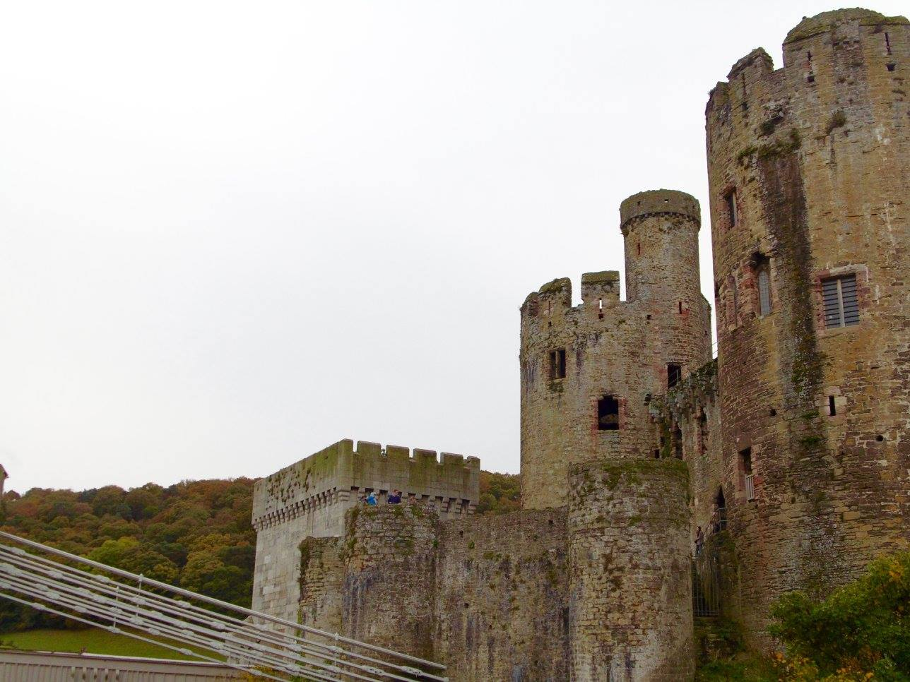 Conwy Castle, in Conwy, Wales