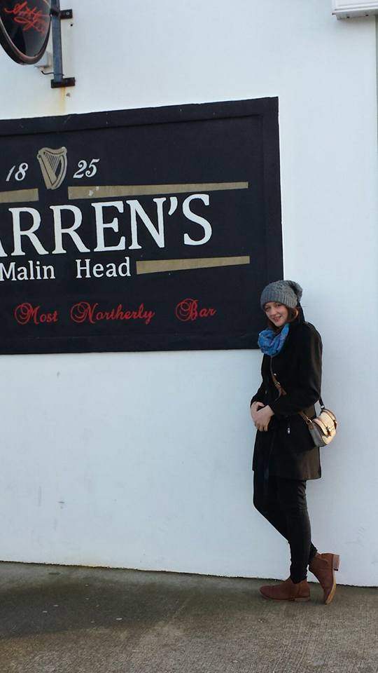 Farren's bar: Ireland's most Northerly bar, in Donegal.