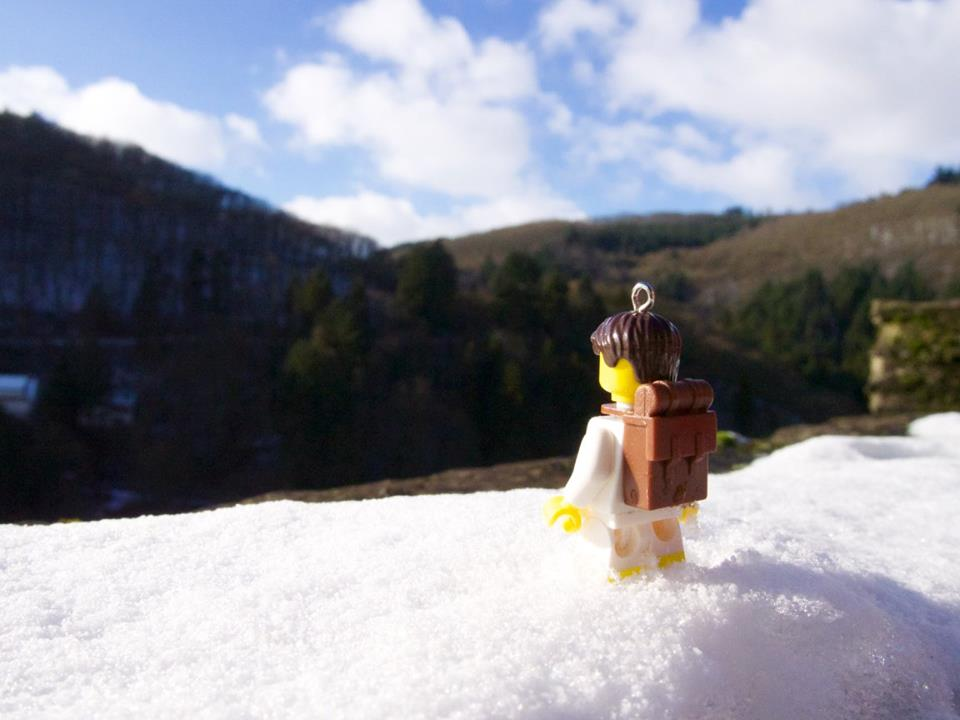 My lego explorer at Viaden Castle in Luxembourg