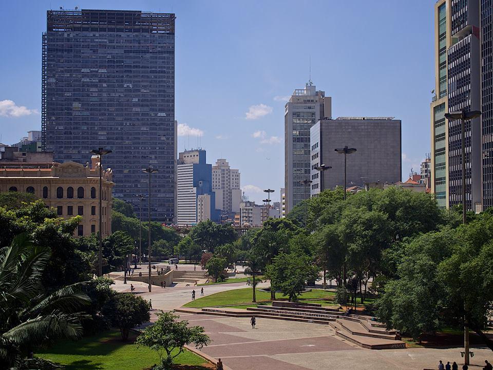 The Praça Ramos de Azevedo