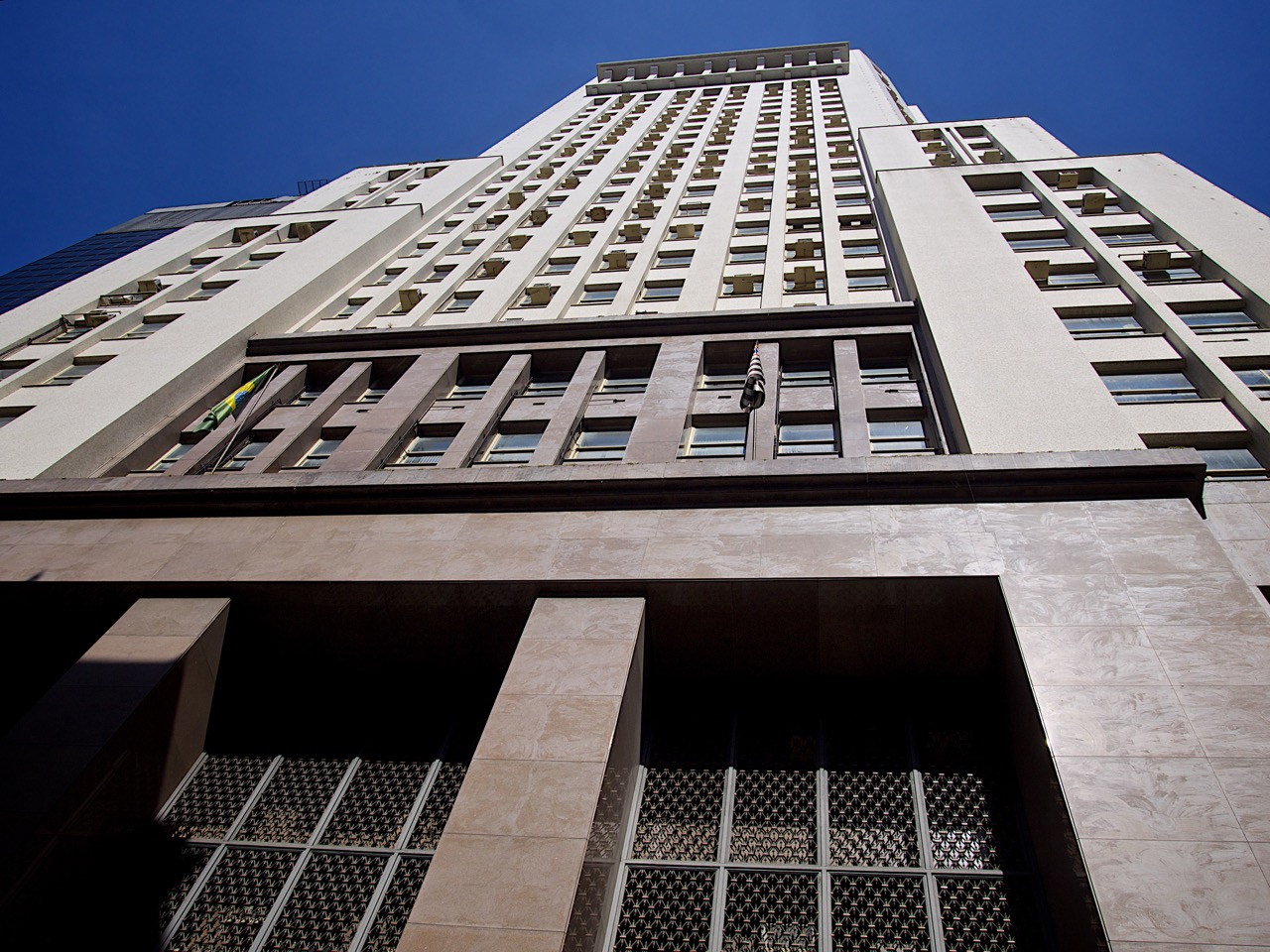 The Banespa Building (2nd tallest building in Sao Paulo)