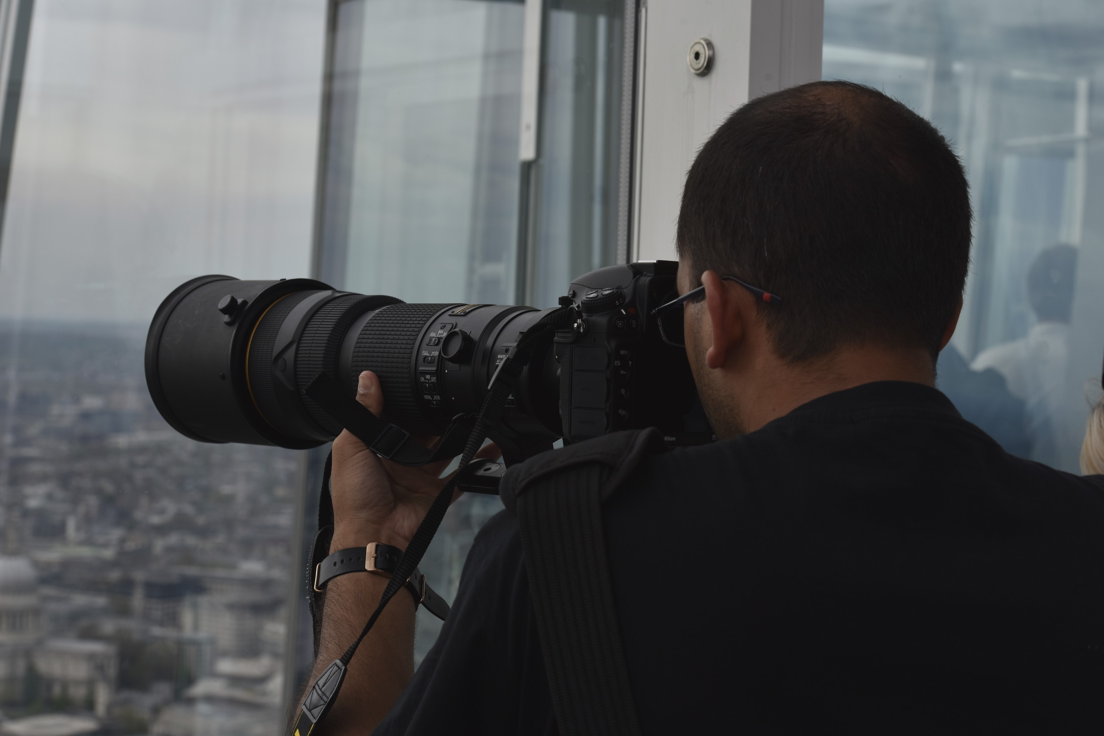 Capturing image of the city with Chris Johnson Photography
