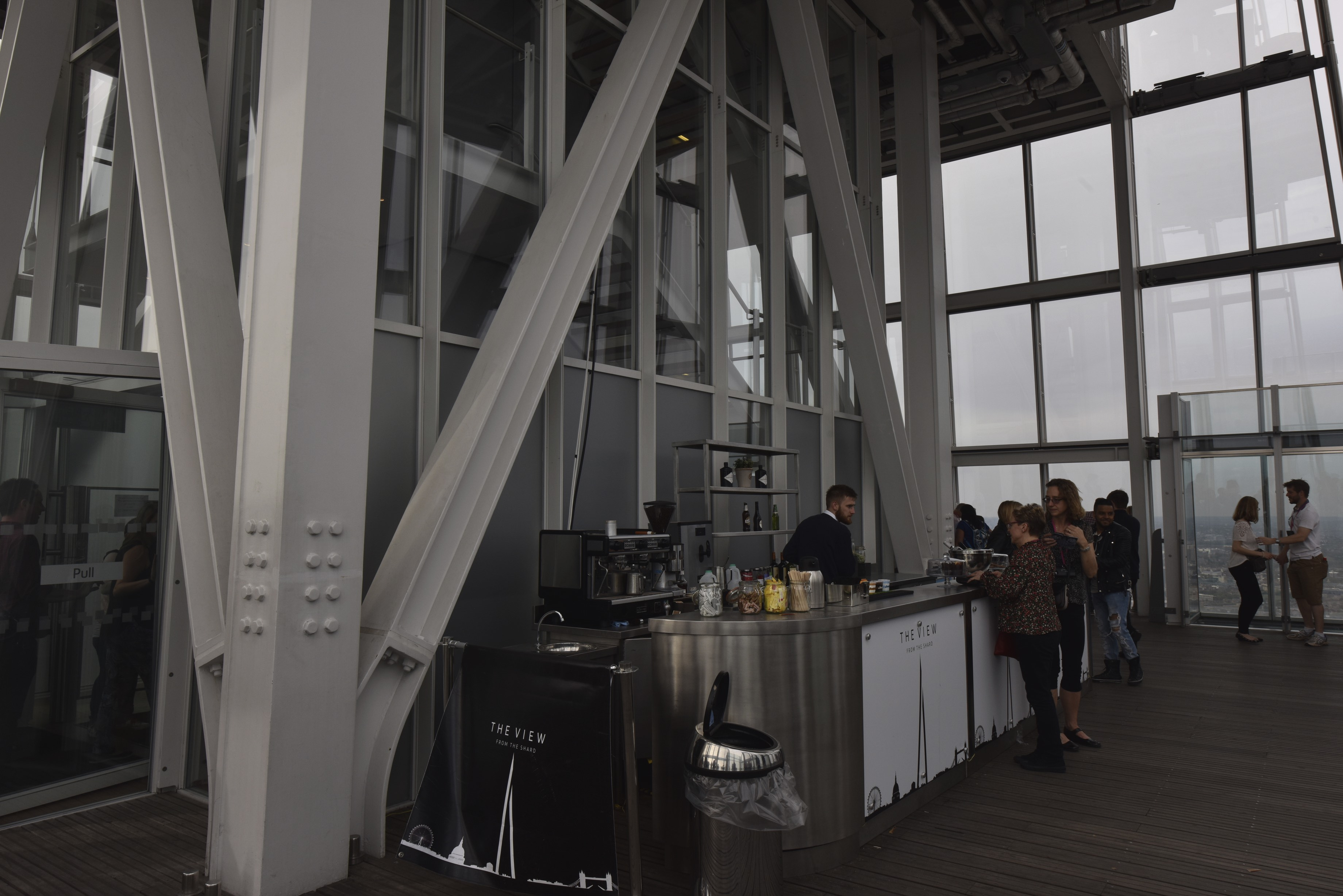Feeling Fancy? You can have a glass of Fizz, whilst taking in the views from the Shard