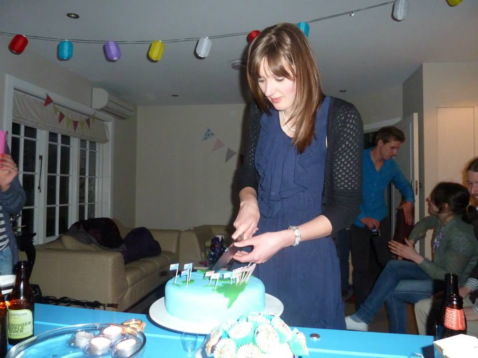 27th birthday celebrations in Christchurch, New Zealand