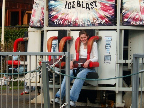 Still loving adventurous activities at Blackpool Pleasure Beach