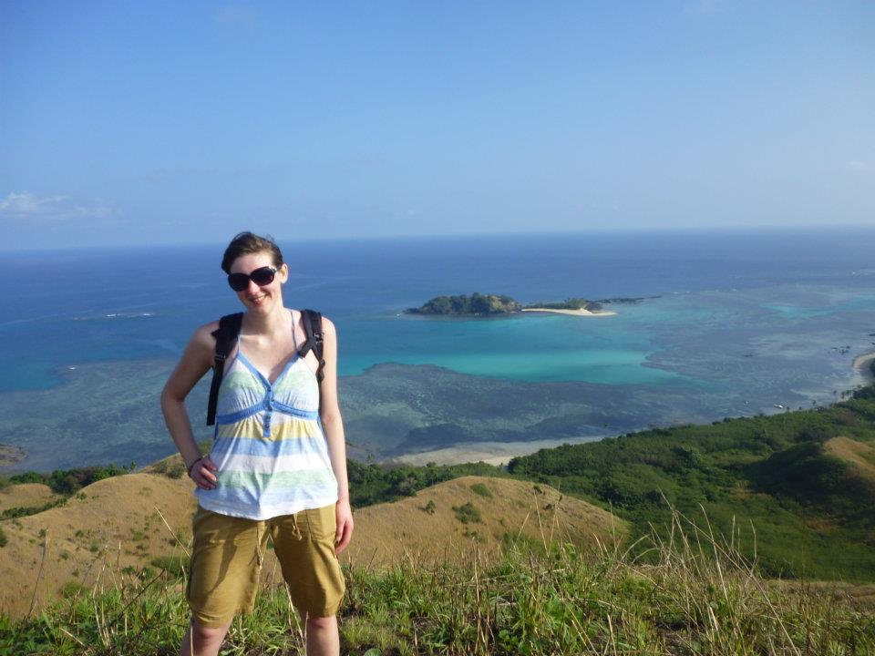 Hiking in the Yasawa Islands, Fiji