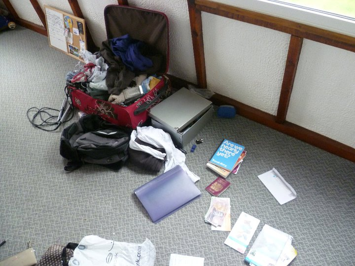 Packing up my life to move to the other side of the World at the end of 2011.