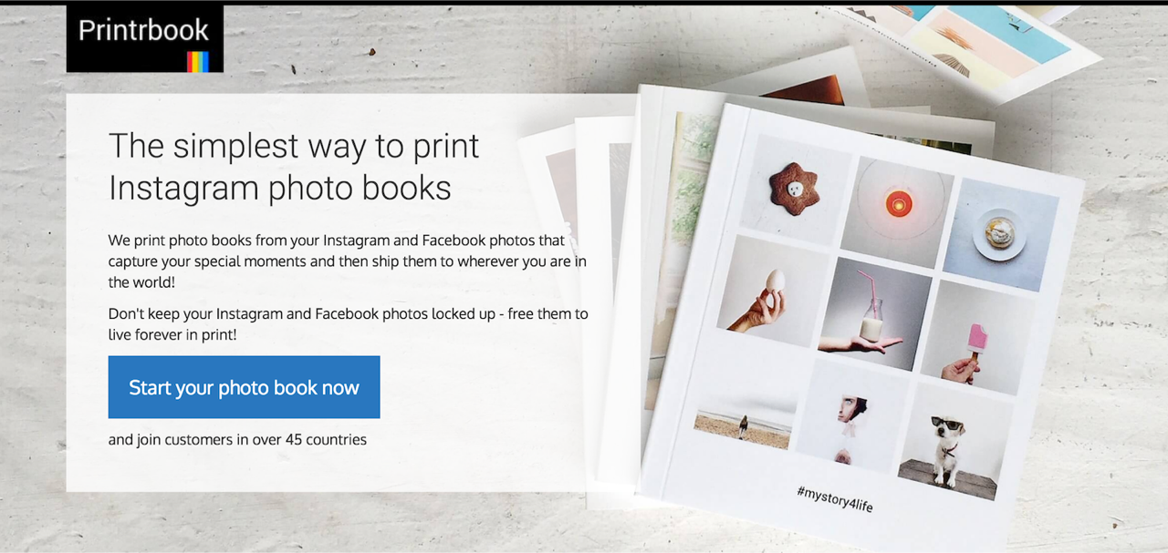 printing your instagram memories with printrbook | life in a rucksack