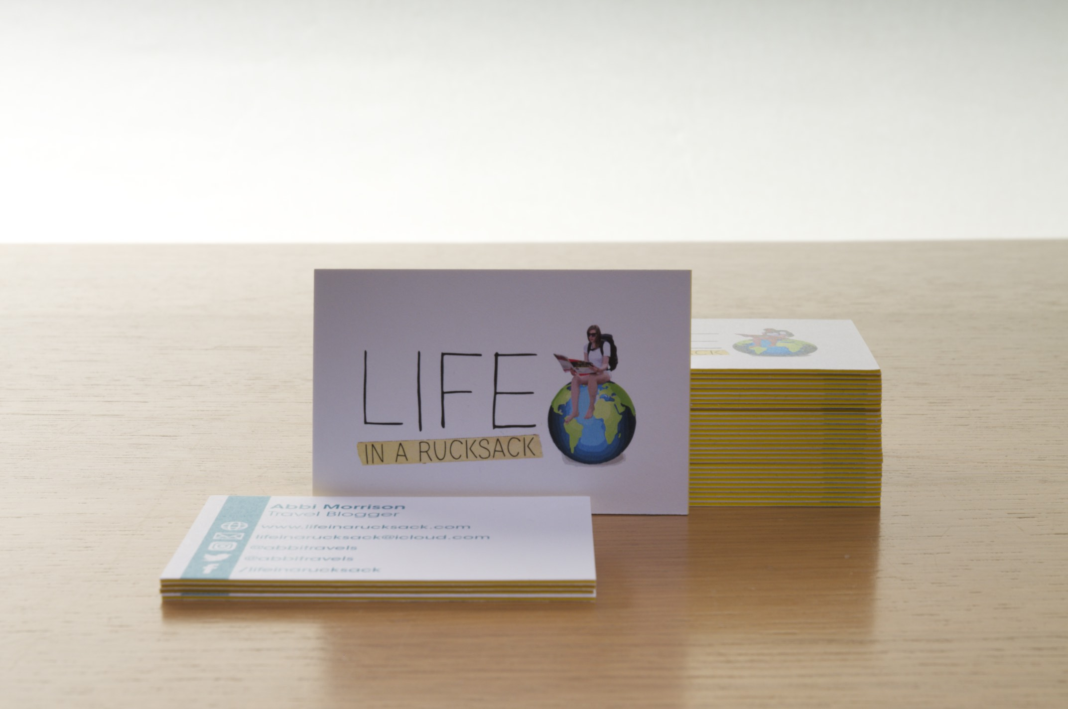 Review: Luxury Business Cards from Aura Print | Life in a rucksack