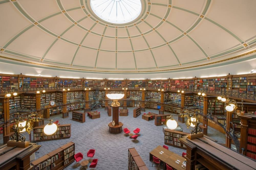 The Picton Reading Room at Liverpool Central Library.